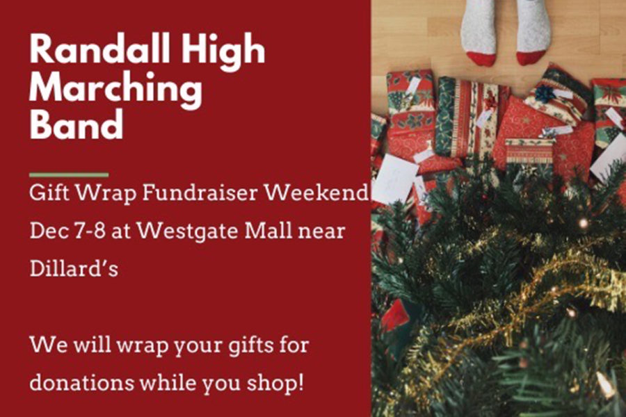 Band Wraps Gifts For Fundraiser