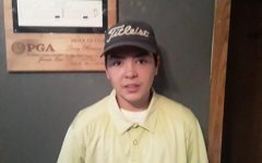 A Few Minutes With Varsity Golfer: Freshman Jacob Montano