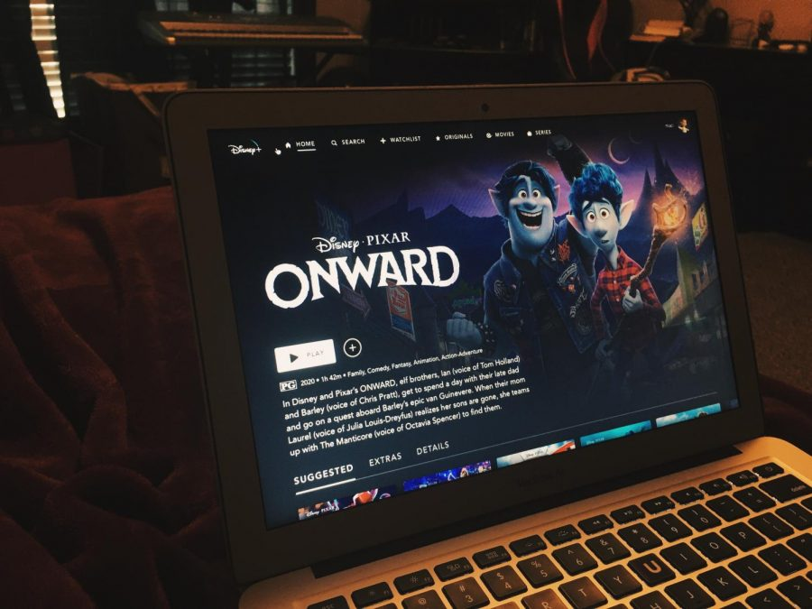 'Onward' is streaming now on Disney+. Photo edited on VSCO.