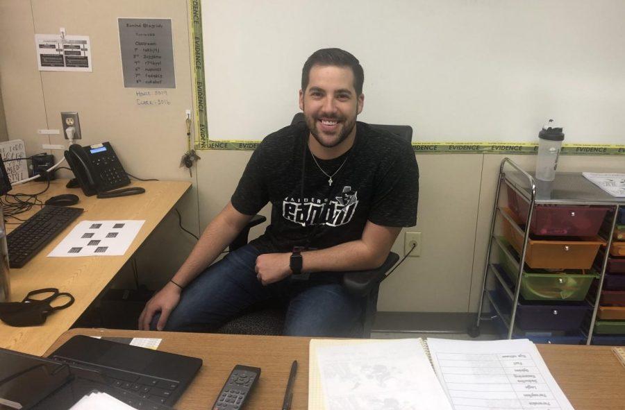 Former Firefighter Joins Teaching Staff