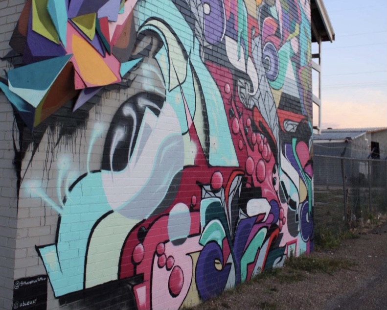Graffiti is a Form of Self Expression