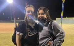 On the left Lauren Garcia(junior), On the right Cambri Carrasco(junior)