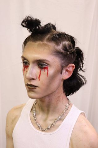 Theatrical makeup created by Seth Lucero