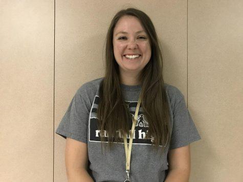 Kelsey Ray, Algebra Teacher
